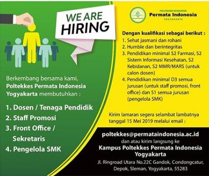Berkembang Bersama Kami Poltekkes Permata Indonesia Yogyakarta Poltekkes Permata Indonesia Yogyakarta